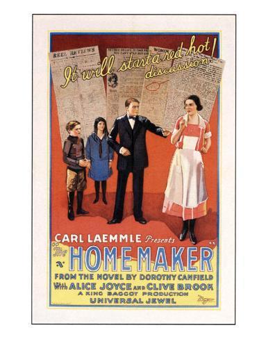 The Home Maker - 1925 Giclée-Druck