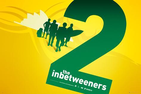 The Inbetweeners Movie 2 - Silhouette Poster