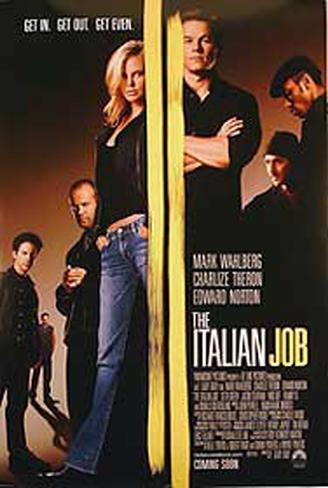 The Italian Job 2003 Originalposter