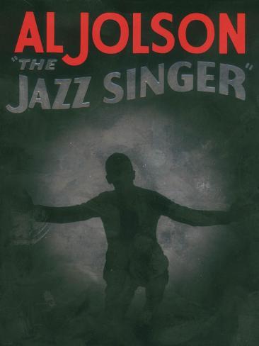 The Jazz Singer, 1927 Kunstdruck