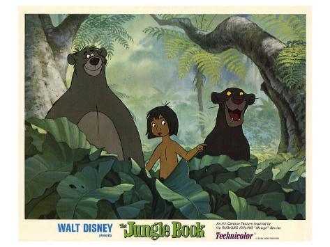 The Jungle Book, 1967 Kunstdruck