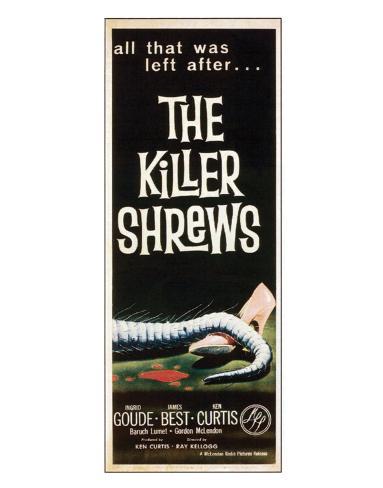 The Killer Shrews - 1959 II Giclée-Druck