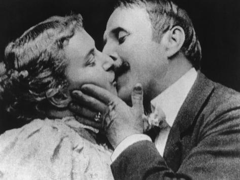 The Kiss, 1896 Fotografie-Druck