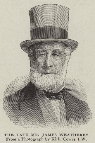 The Late Mr James Weatherby Giclée-Druck