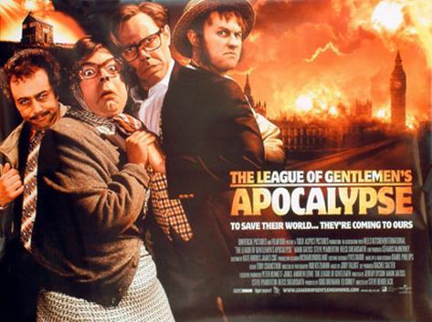 The League Of Gentlemen's Apocalypse Originalposter