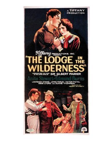 The Lodge In The Wilderness - 1926 I Giclée-Druck