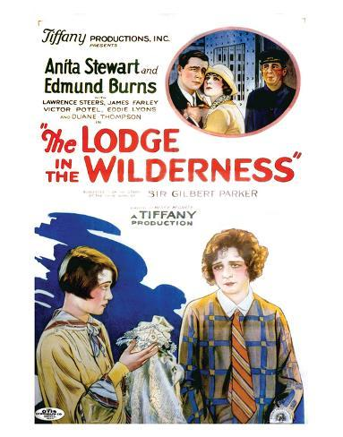 The Lodge In The Wilderness - 1926 II Giclée-Druck