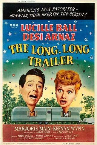 The Long Long Trailer Kunstdruck