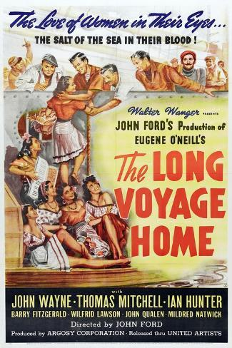 The Long Voyage Home, 1940, Directed by John Ford Giclée-Druck