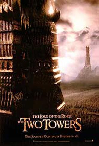The Lord Of The Rings: The Two Towers Doppelseitiges Poster