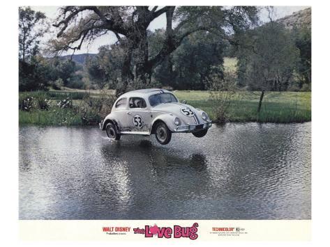 The Love Bug, 1969 Kunstdruck