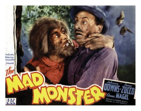 The Mad Monster - 1942 I Giclée-Druck