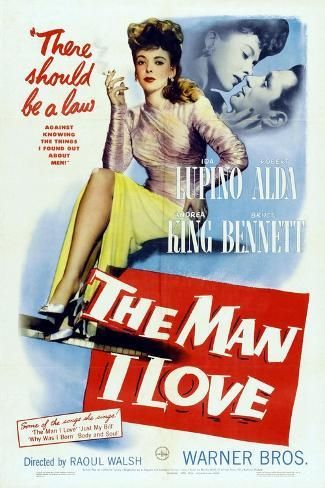 The Man I Love, 1947, Directed by Raoul Walsh Giclée-Druck