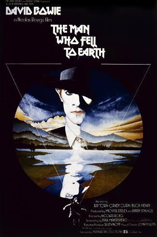 The Man Who Fell to Earth Kunstdruck