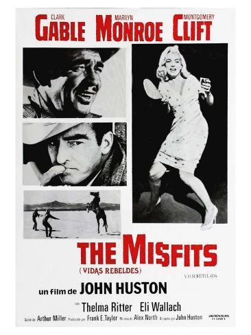 The Misfits, 1961 Kunstdruck