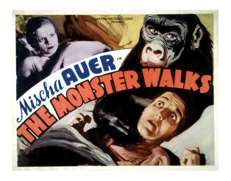 The Monster Walks - 1932 II Giclée-Druck