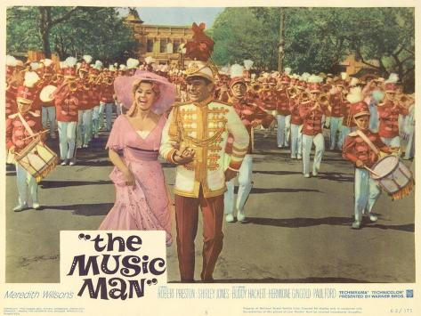The Music Man, 1962 Kunstdruck