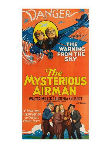 The Mysterious Airmen - Warning from the Sky Kunstdruck