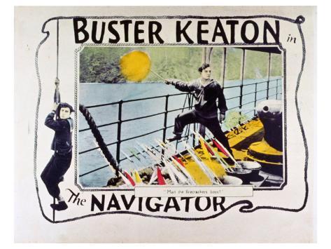 The Navigator, 1924 Kunstdruk