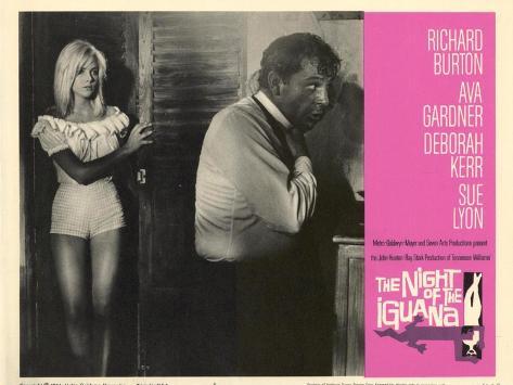 The Night of the Iguana, 1964 Giclée-Premiumdruck