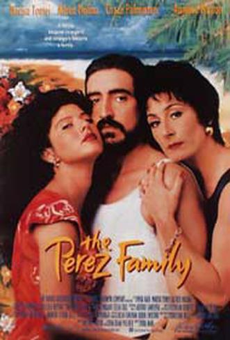 The Perez Family Originalposter