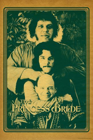The Princess Bride - Vizzini, Inigo Montoya, and Fezzik Kunstdruk