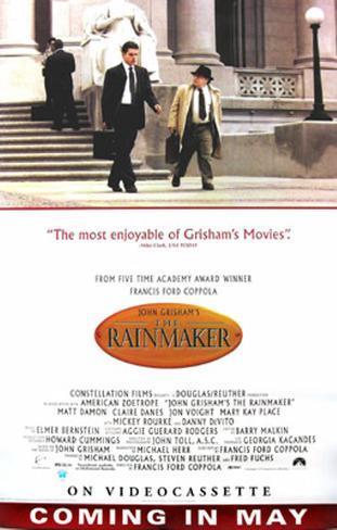 The Rainmaker Originalposter