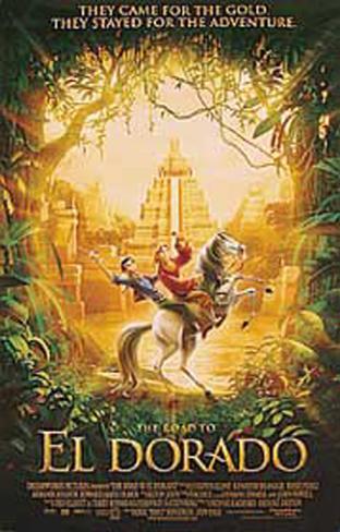 The Road To Eldorado Doppelseitiges Poster