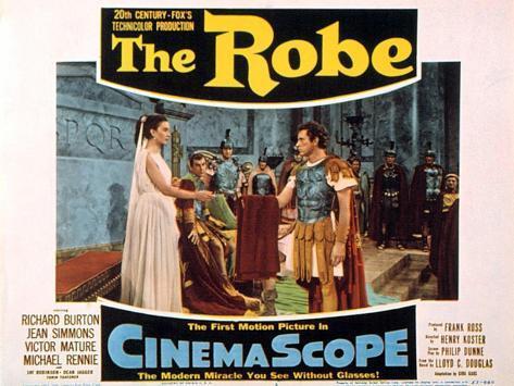 The Robe, 1953 Kunstdruck