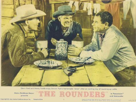 The Rounders, 1965 Kunstdruck