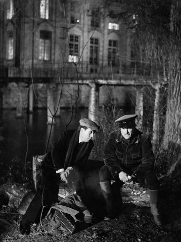 The Rules Of The Game, (aka La Regle Du Jeu), Julien Carette, Gaston Modot, 1939 Foto