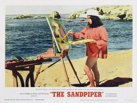 The Sandpiper, 1965 Kunstdruck