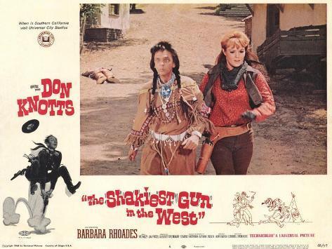 The Shakiest Gun in The West, 1968 Kunstdruck