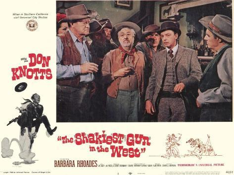 The Shakiest Gun in The West, 1968 Kunstdruck