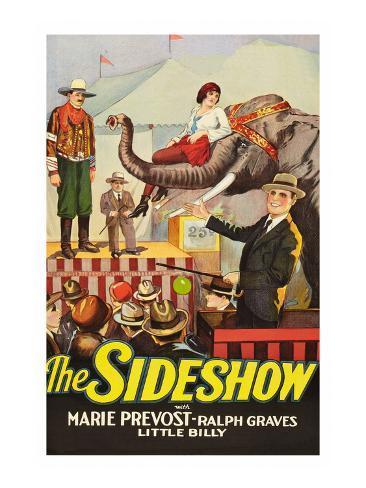 The Sideshow Kunstdruck
