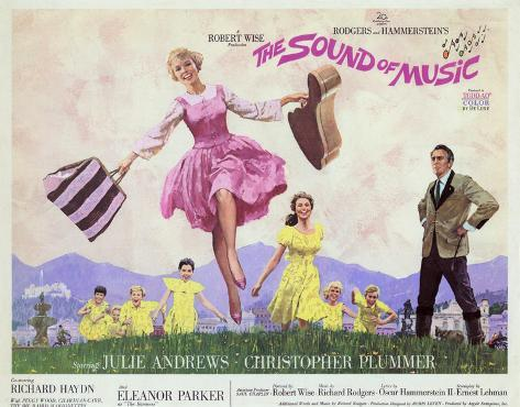 The Sound of Music -  Style Poster