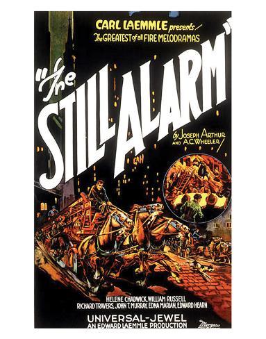 The Still Alarm - 1926 Giclée-Druck