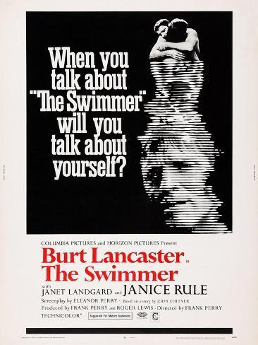 The Swimmer Kunstdruck