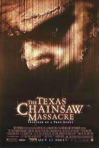 The Texas Chainsaw Massacre– Blutgericht in Texas Originalposter