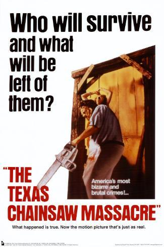 The Texas Chainsaw Massacre– Blutgericht in Texas Poster
