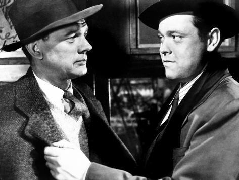The Third Man, Joseph Cotten, Orson Welles, 1949 Foto
