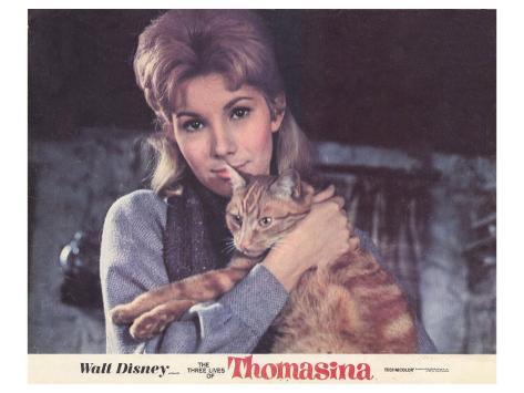 The Three Lives of Thomasina, 1964 Kunstdruck