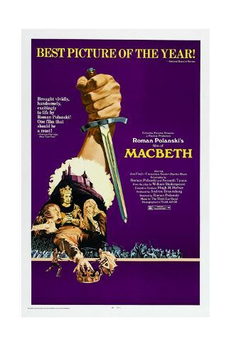 The Tragedy of Macbeth Kunstdruck