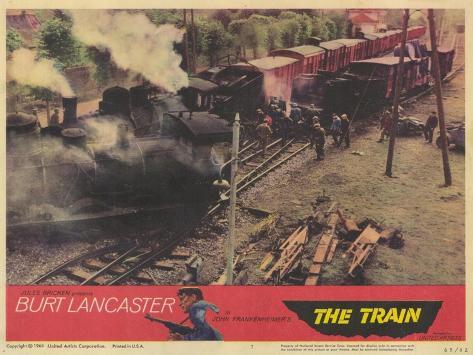 The Train, 1965 Kunstdruck