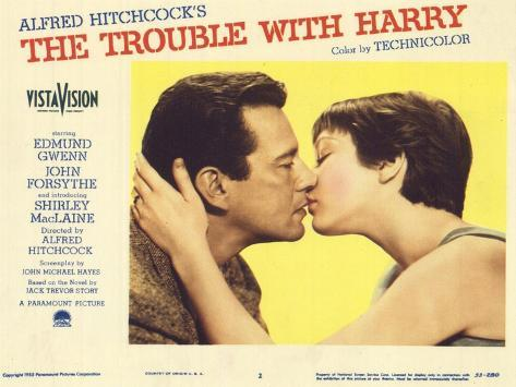 The Trouble With Harry, 1955 Giclée-Premiumdruck
