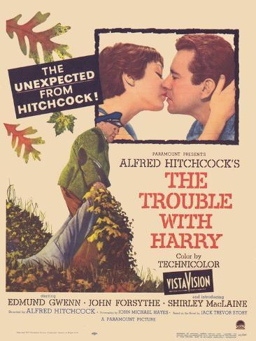 The Trouble With Harry, 1955 Kunstdruck