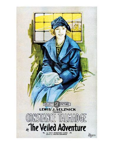 The Veiled Adventure - 1919 Giclée-Druck