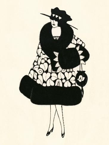 Blanche-Noir III Kunstdruck