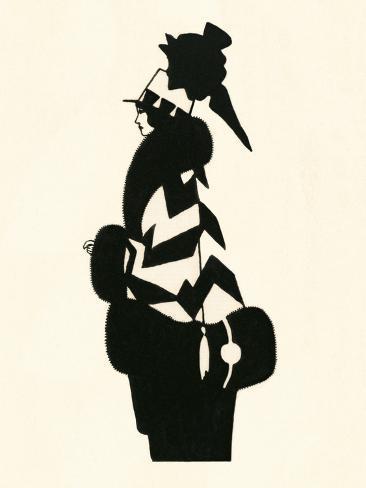 Blanche-Noir IV Kunstdruck