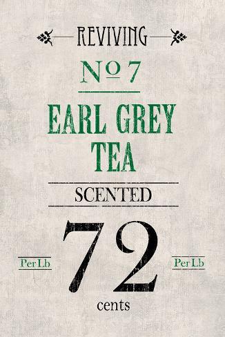 Earl Grey Tea Kunstdruck